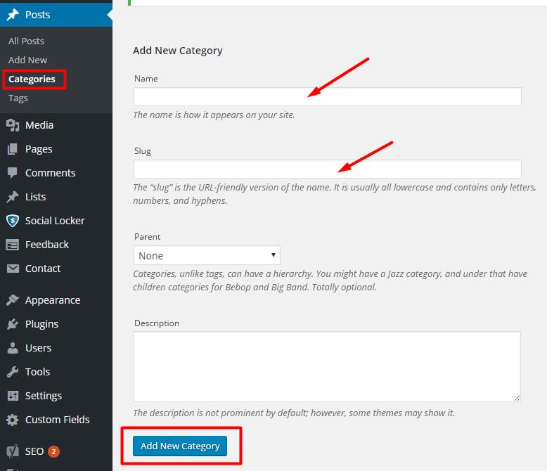 Deleting Uncategorized Category in WordPress 2