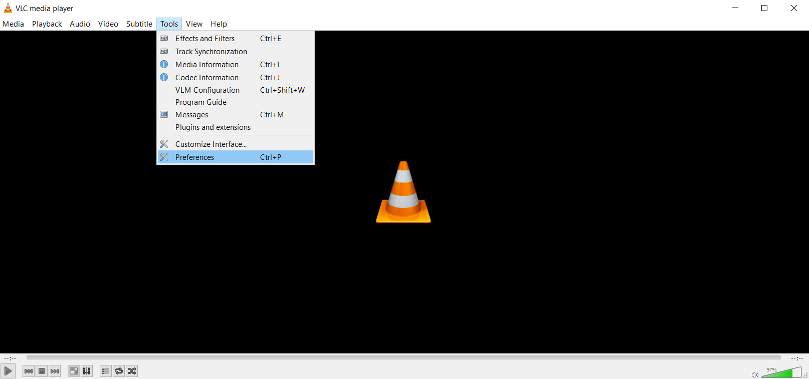 Save battery life with VLC