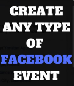 How Can You Create Event in Facebook Name Text & Song