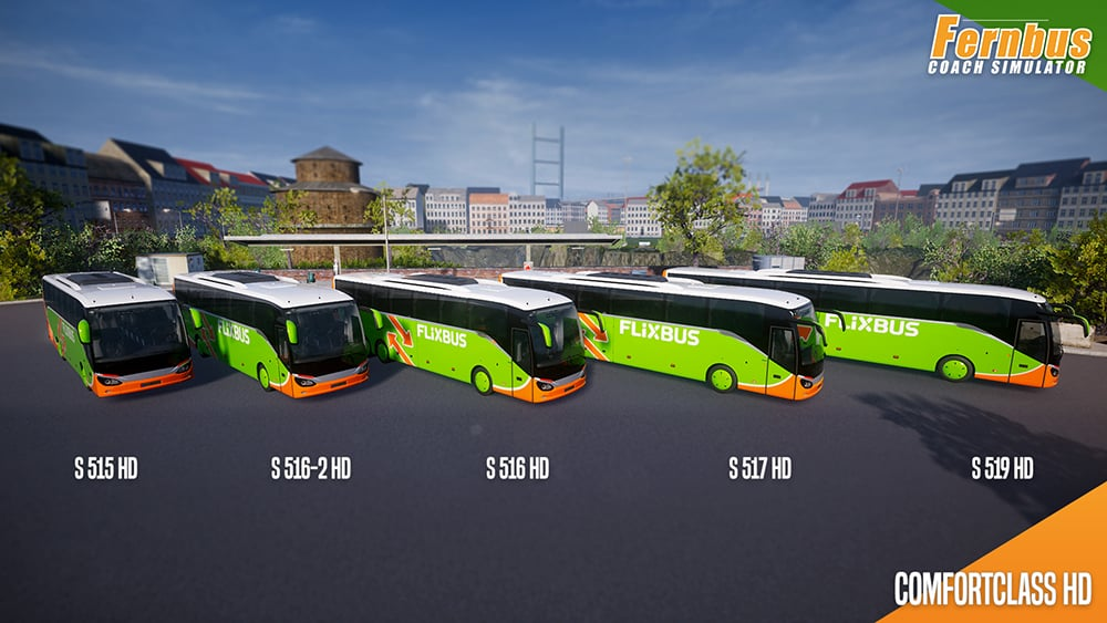Fernbus Simulator Game
