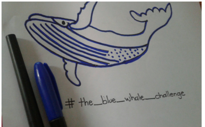 play blue whale challenge