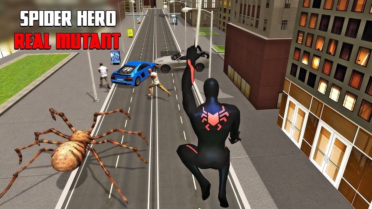 Multi Spider Heroes Crime City Warrior Game for Android