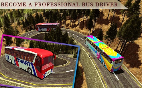Heavy Mountain Bus Game for Android