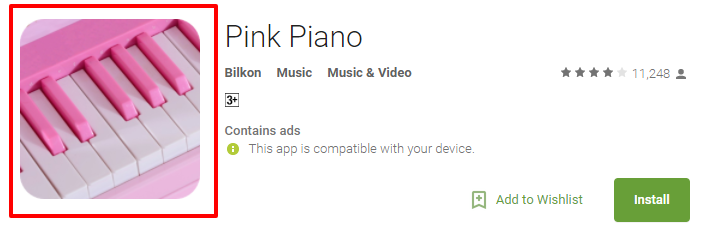 Pink Piano Tiles 2018 Games For Android