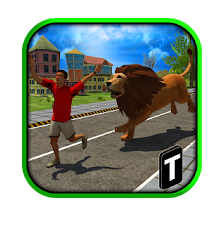 Angry Lion Attack 3D Game for Android