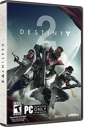 THE WORLDS OF DESTINY 2 GAME FOR PC