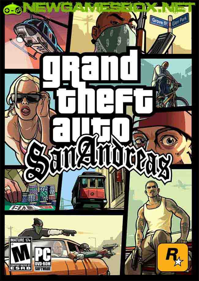 GTA San Andreas Game Download for PC (Reviews)