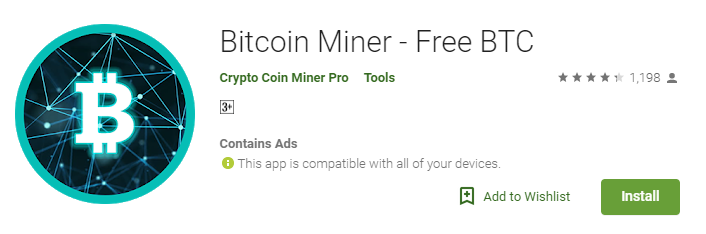 bitcoin miner android review