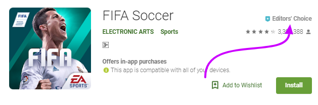 FIFA soccer Android/PC