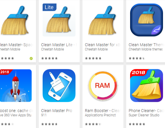 Clean master feature