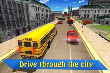 Schoolbus Driver 3D