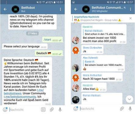 Telegram Server App