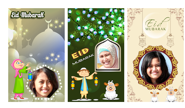 Eid Mubarak Photo Frames