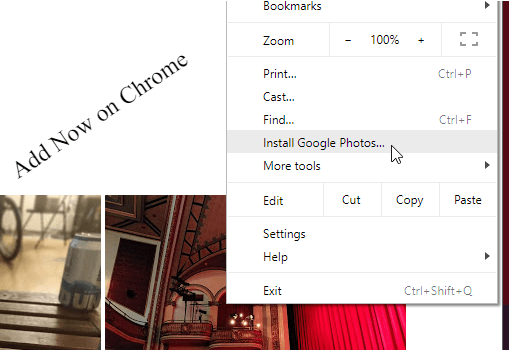 Google Photos now available in Chrome