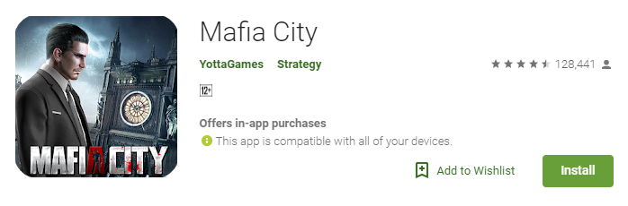 Mafia City Game