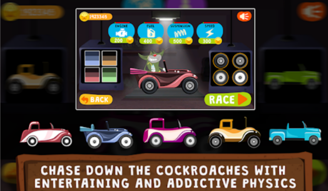 Oggy Go World of Racing Mod APK