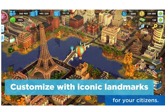 SimCity BuildIt Mod APK Latest Version for Android | Techstribe