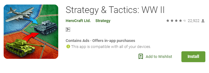 Strategy game for android