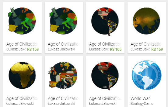 Age of Civilizations Apps