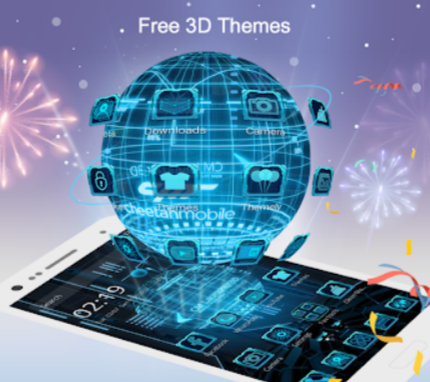 CM Launcher 3D Theme Wallpapers Efficient