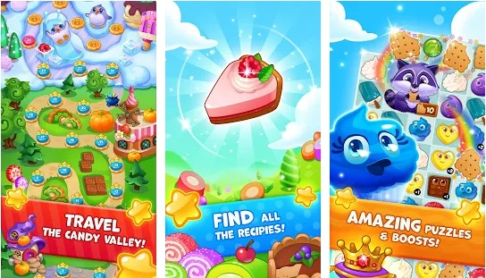 Candy Valley - Match 3 Puzzle Mod APK