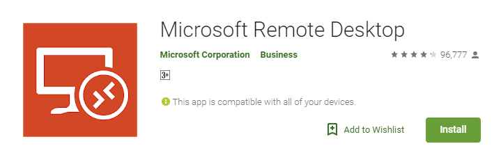 Remote Desktop Apps