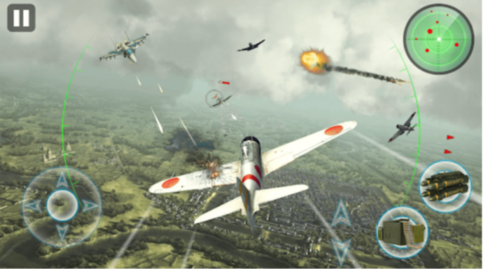 Air Thunder War Mod APK