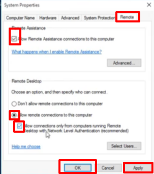 Enable Remote Desktop Windows 10 Home