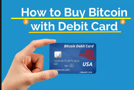 get Bitcoin Debit Card