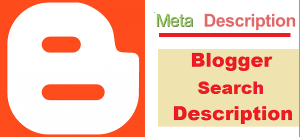 How To Add Description in Blogger?