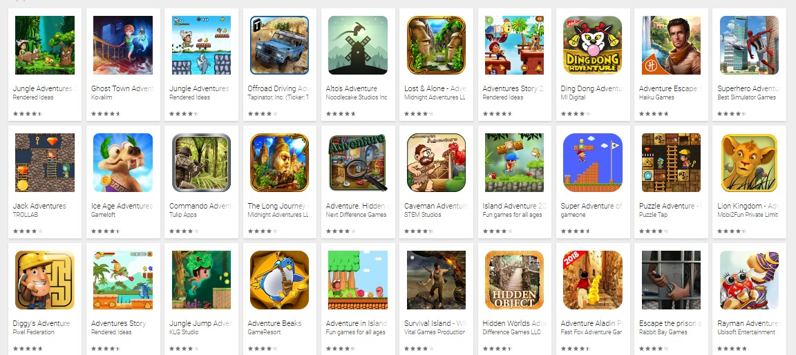 adventure games mod apk