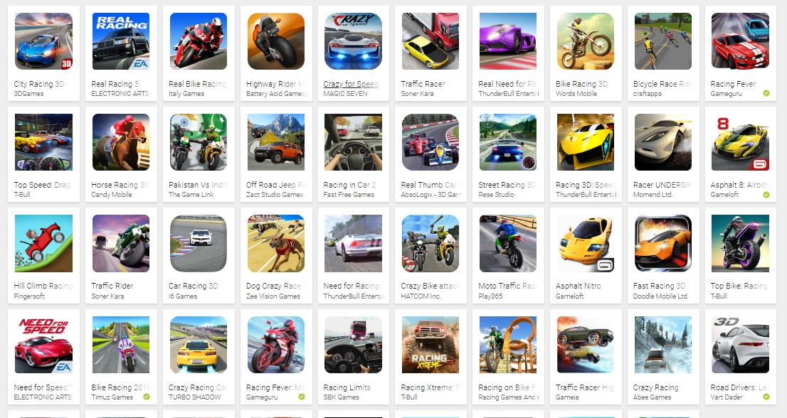 15 Best Racing Games Mod APK for Android