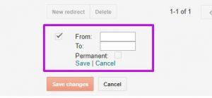 Custom Redirects