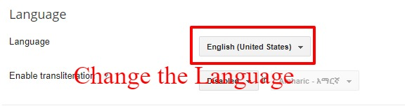 How To Change Language in Blogger?