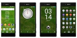 Football theme for Xperia™