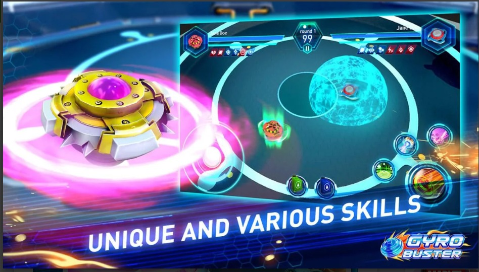 Gyro Buster Updated Version APK