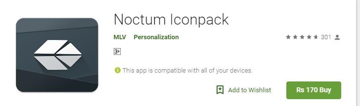 Noctum icon pack mod apk