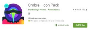 Ombre Icon Packs mod apk
