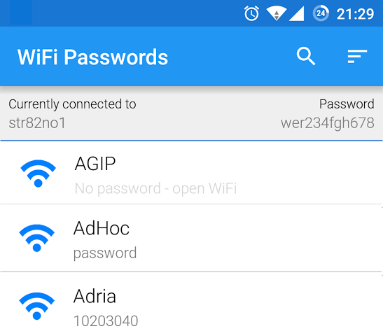 View Saved Wi-Fi Passwords on Smartphone