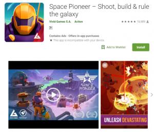 Space Pioneer Mod Apk