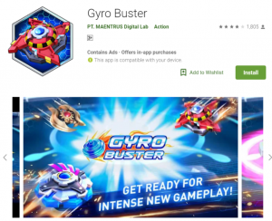 Gyro Buster Mod Apk
