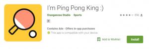 Ping Pong King Mod