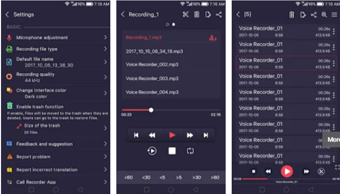 Voice Recorder Pro Mod Apk