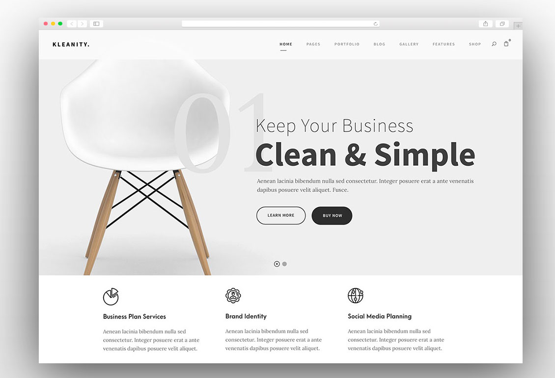 60 Simple Wordpress Themes 2018 You Must Try Techstribe
