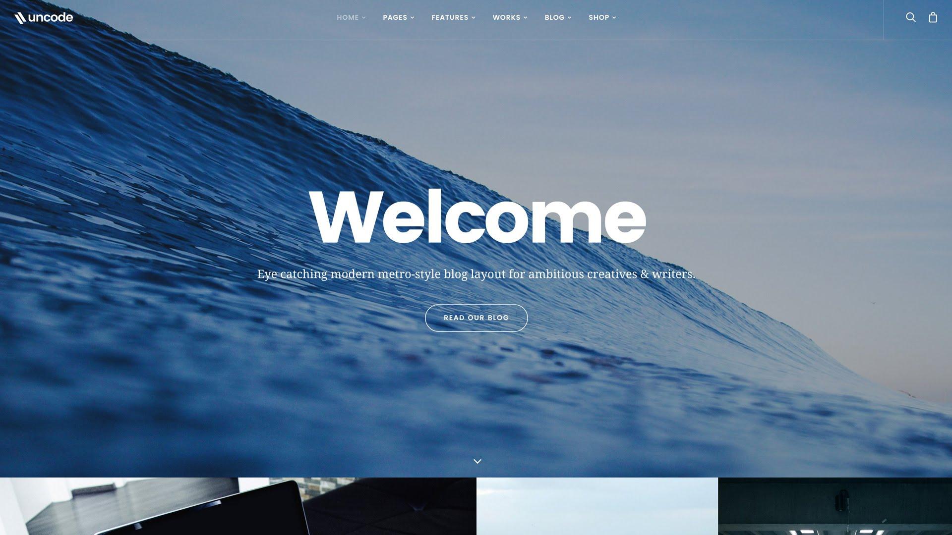 Simple WordPress themes 2018