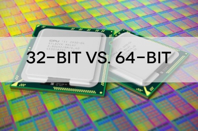 64-bit is faster than 32-bit