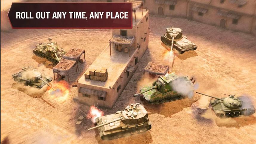 World of Tanks Blitz (MOD, Unlimited Money/Gold)