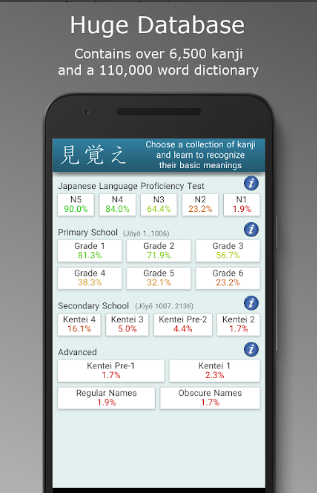 Japanese Kanji Tree Pro unlimited free