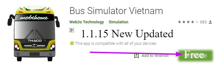 Bus Simulator Vietnam 2.0.9 Mod
