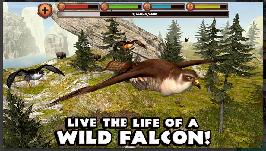Falcon Simulator mod apk